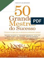 50 Grandes Mestres Do Suces