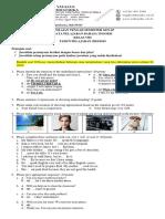 Contoh Format Soal PTS