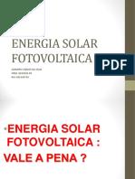 Sistema Fotovoltaivo Apresentação