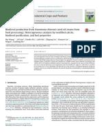 Limbah Pengolahan Makanan-Biofuel
