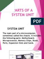 Parts of a System Unit