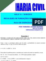 Aula 14_18-09-2018_Recalques - Aula de Exerc.PDF