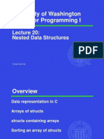 Lecture 20 Nested Data Structures