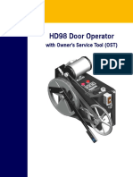 Hd 98 Door Operator With Uit