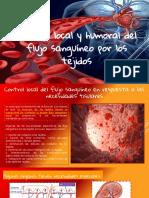 Control Local y Humoral Del Flujo Sanguíneo Por Los Tejidos