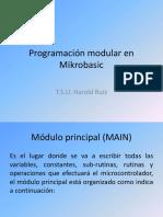 Programación Modular en Mikrobasic
