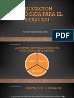 Educacion Teológica Para El Siglo Xxi- Tema Introductorio