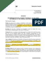 Inclusión Del Novichok en La Lista de Sustancias Químicas ARES4237