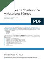 Materiales de Construcción y Materiales Petreos