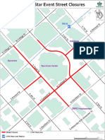 NBA All-Star Event Street Closures