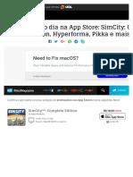 Promoções do dia na App Store