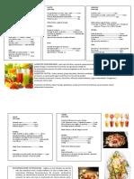 Guia Nutricional Semanal Sx. Chogren