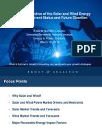 Global Solar & Wind Markets