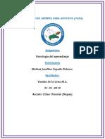 Tarea 1 de Psicologia Del Prendizaje Melisa Josefina