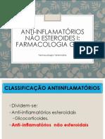 Aula 14 - Agentes Anti-Inflamatórios Não Esteroides I
