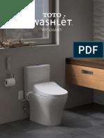 Washlet Fit Chart