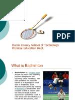 Badminton Ppt