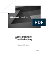 ActiveDirectory ADTSv2.0 Workbook