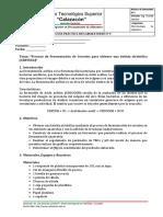 PRACTICA Nº5 Fermentación Alcoholica CERVEZA