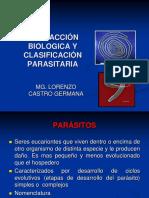 Interacción Biologica y Clasificación Parasitaria (1)