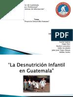 La Desnutrición Infantil en Guatemala
