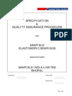 2- SANFIELD-Quality Manual for Elastomeric Bearings