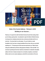 2019 State of the County Speech