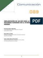 Implantacion de Un Erp Para Gestion r