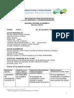 2° Informe Académico 2019-2