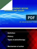 phototherapybeyondpsoriasisandvitiligo-160303131025