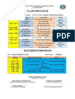 Teachers Program