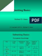 Basic Sub Netting
