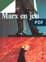 1997. Derrida, J., Vernant, J., Guillaume, M. Marx en jeu.pdf