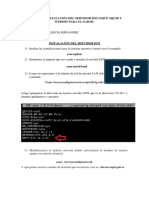 Manual de Instalación Del Servidor Para El Gadmu