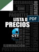 Ctt Lista de Precios