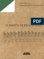 Ksenija Maricki Gađanski - O mitu i religiji.pdf