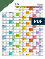 Calendar 2019 Australia Landscape in Colour
