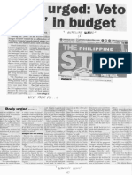 Philippine Star, Feb. 6, 2019, Rody urged Veto pork in budget.pdf