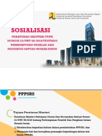 Sosialisasi PPPSRS