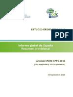 EPINE-EPPS 2016 Informe Global de Espana Resumen