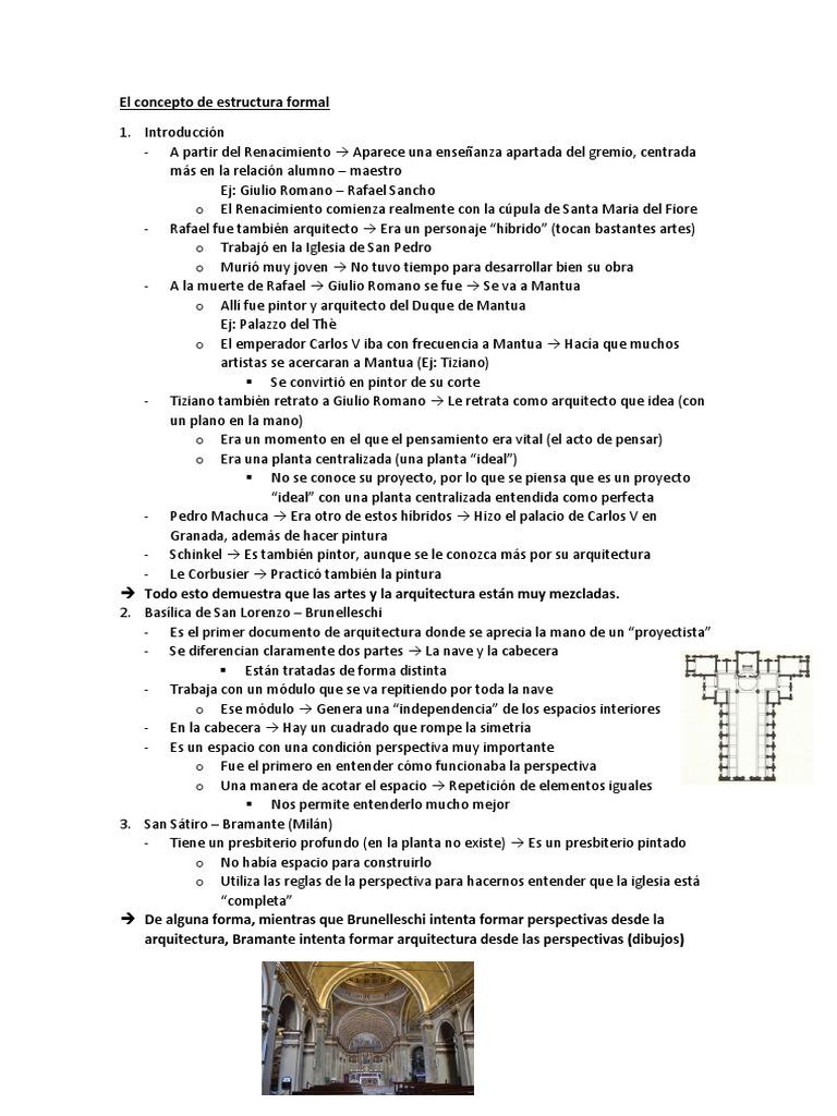 1 Estructura Formal Rafael Perspectiva Gráfica