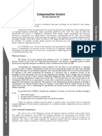 Gross Compensation Income Summary II