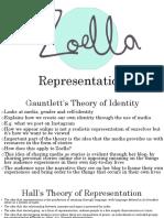 Zoella Representation