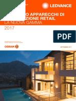 Catalogo Apparecchi Di Illuminazione Retail 2017-18