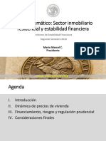 BCCh Sector Inmobiliario Residencial y Estabilidad Financiera. Informe de Estabilidad Financiera 2do Semestre 2018.