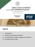 BCCh Sector Inmobiliario Residencial y Estabilidad Financiera. Informe de Estabilidad Financiera 2do Semestre 2018.