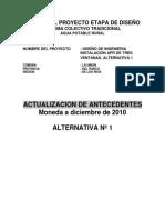 Actualizacion Antecedentes - Tres Ventanas - Alternativa 1