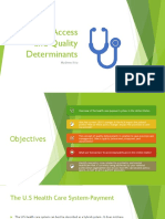 Health Access and Quality Determinants