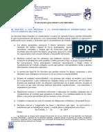 III Premios a la Sostenibilidad Empresarial / ACEPTACIÓN BASES