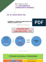 Materi 4 - Pedoman Penyusunan Standar Spmi-padang 2015